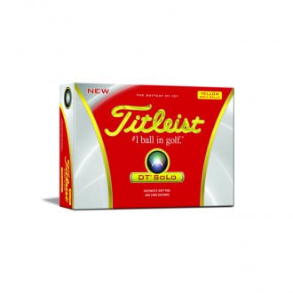 promotional golf balls Titleist DTSolo at non stop adz