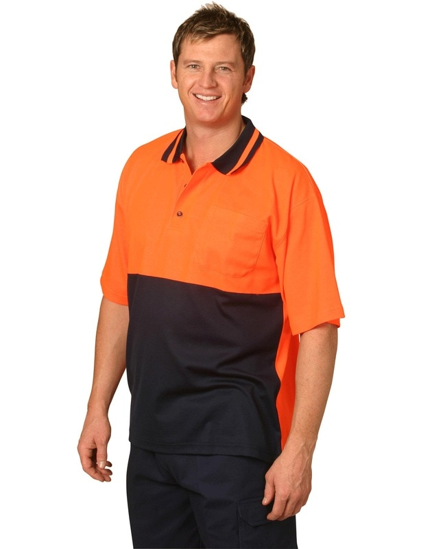 aiw hi-viz truedry short sleeve polo style sw12 at non stop adz