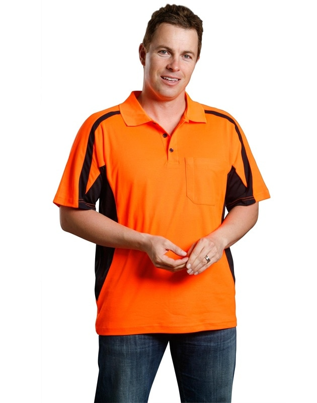 aiw hi-viz truedry short sleeve polo style sw25 at non stop adz