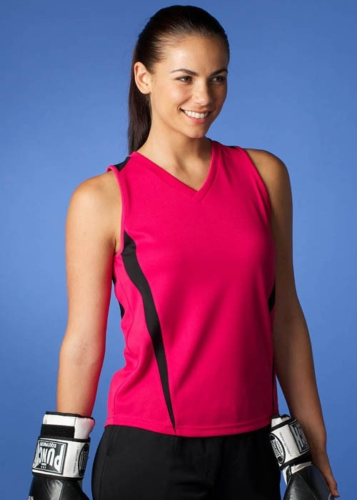 aussie pacific eureka ladies singlet style 2104 at non stop adz