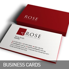 business cards designed and printed at non stop adz