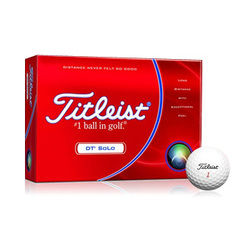 promotional golf balls Titleist DT Solo at non stop adz