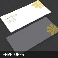envelopes designed and printed at non stop adz