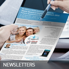 newsletters designed and printed at non stop adz
