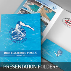 presentation folders designed and printed at non stop adz
