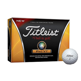 promotional golf balls Titleist ProV1 at non stop adz