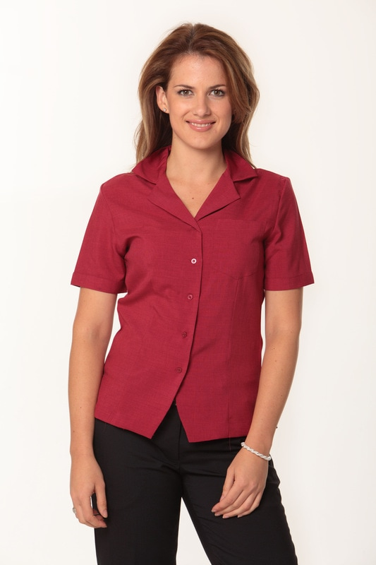 winning spirit ladies short sleeve cooldry overblouse style m8614s at non stop adz