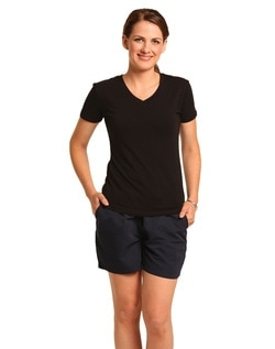 winning spirit ladies cotton stretch tee style ts04A at non stop adz