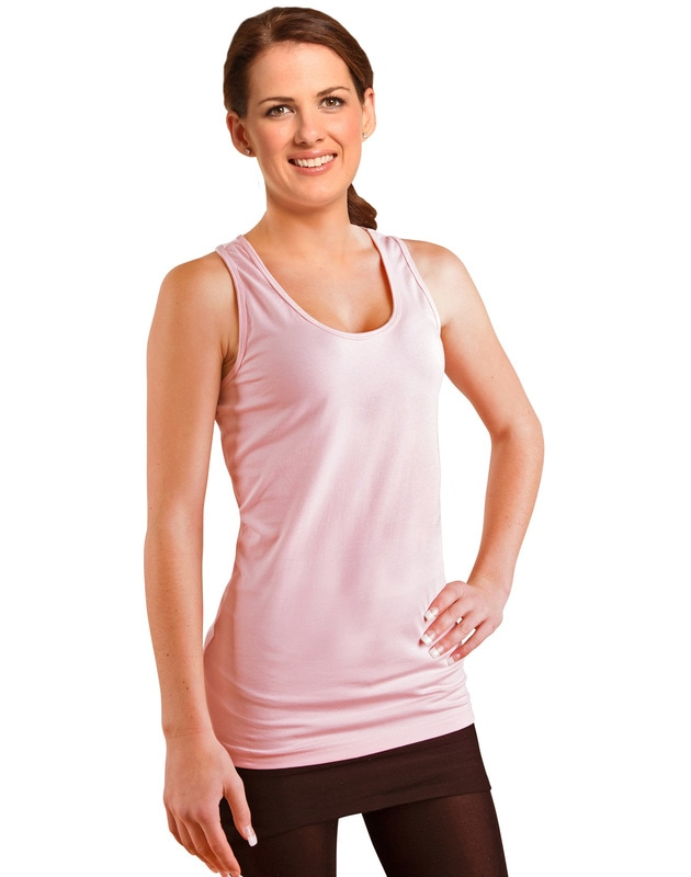 winning spirit ladies cotton stretch singlet style ts21a at non stop adz