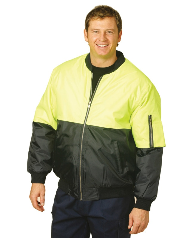 aiw hi-viz flying jacket style sw06a at non stop adz