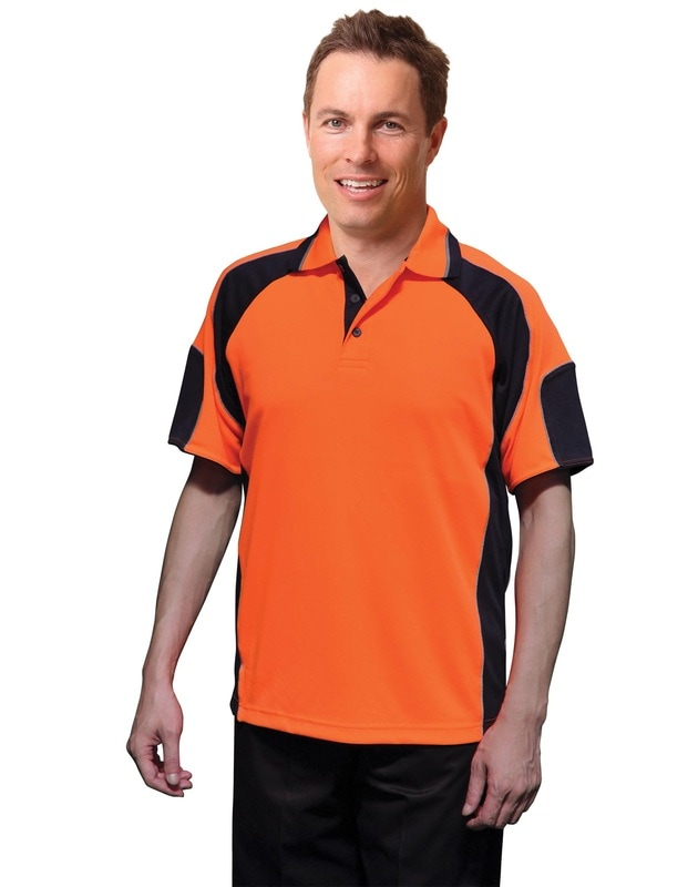 aiw hi-viz cooldry short sleeve polo style sw61 at non stop adz