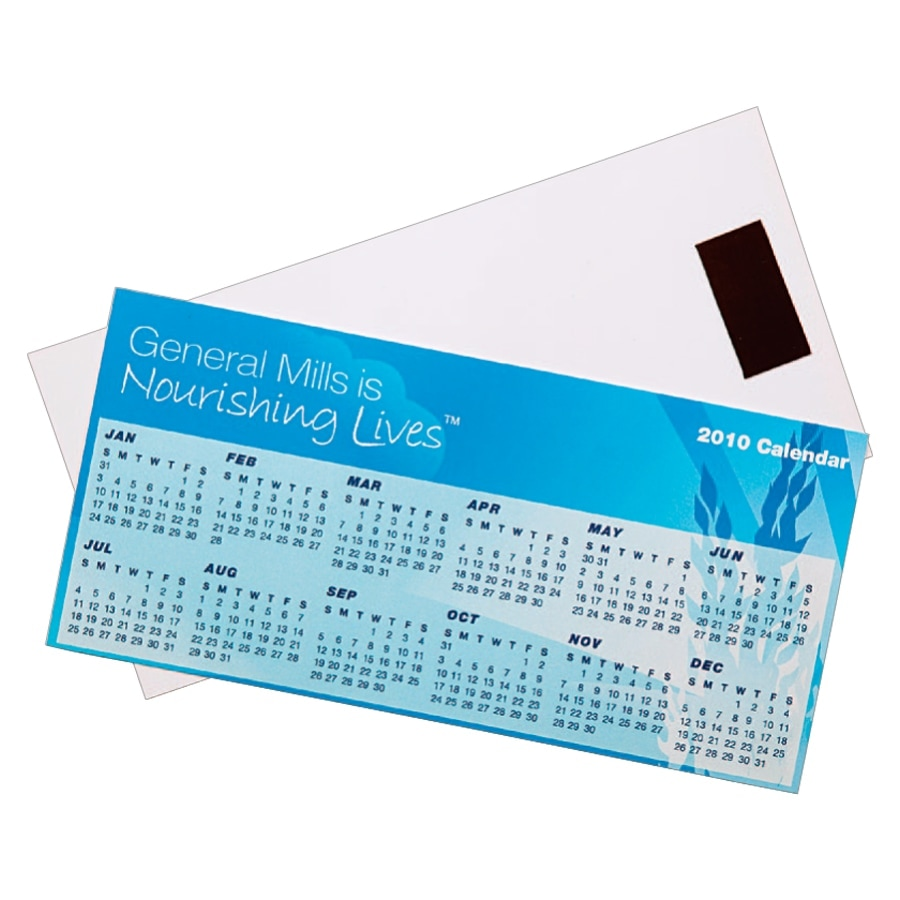 promotional magnetic tab calendar CL101 at non stop adz