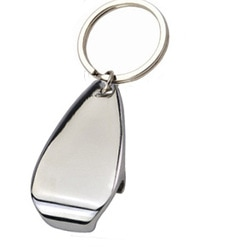 promotional metal keyring JK002B at non stop adz