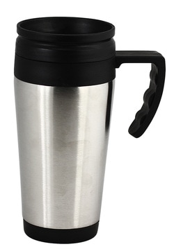 stainless double walled mug JM003 at non stop adz