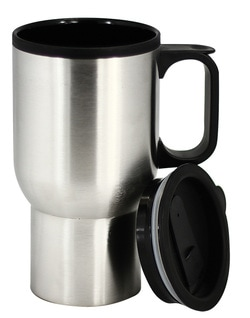 stainless double walled mug JM005 at non stop adz