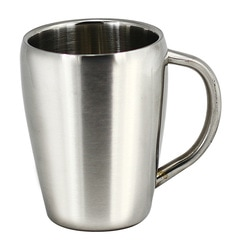 stainless double walled mug JM008 at non stop adz