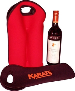 promotional wine bottle holder, style N16, at non stop adz