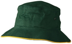 winning spirit, heavy brushed cotton bucket hat, style ch31, at non stop adz