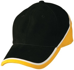 winning spirit, heavy brushed cotton cap, style ch38, at non stop adz