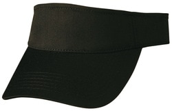 winning spirit, heavy brushed cotton visor, style ch49, at non stop adz