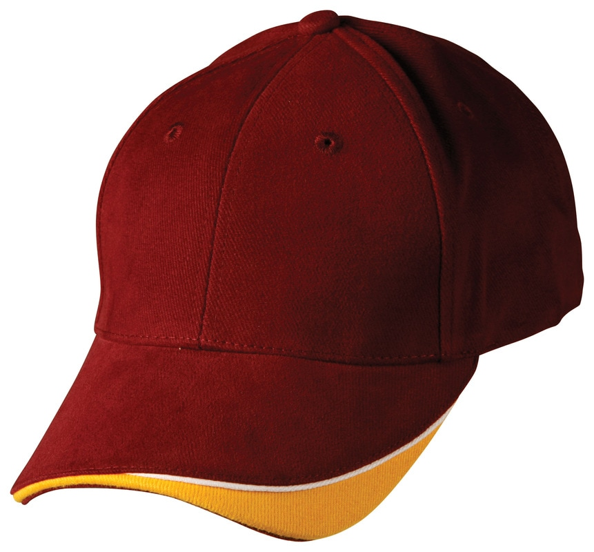 winning spirit, heavy brushed cotton cap, style ch68 at non stop adz