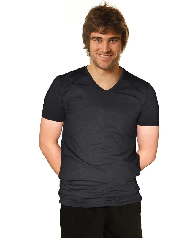 winning spirit cotton stretch tee style ts07a at non stop adz